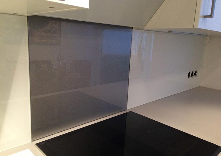Rückwände aus Glas Glasrückwand modern