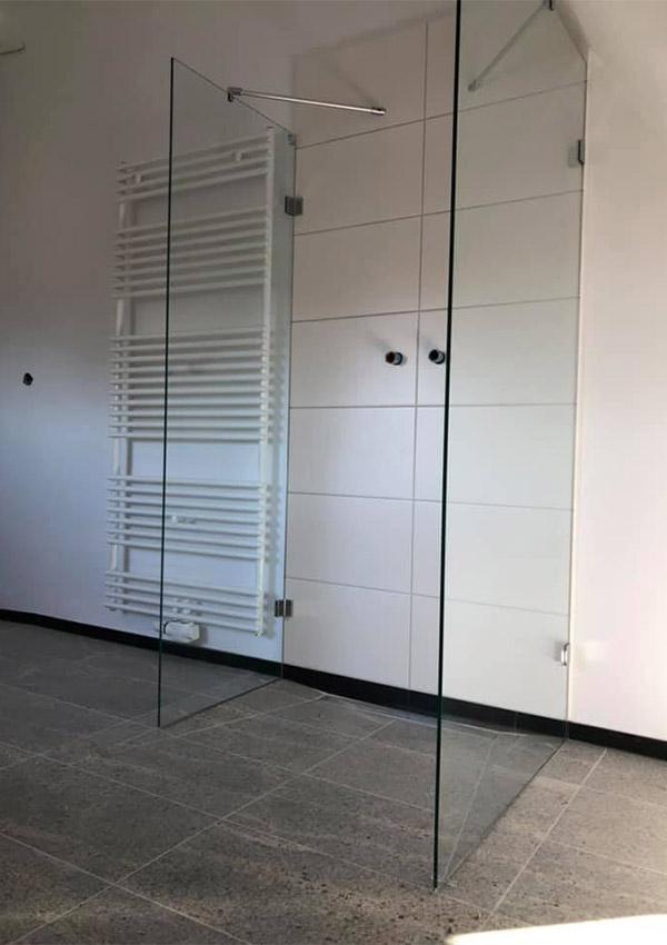 Glasdusche Dusche aus Glas modern
