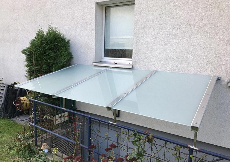 Glasdach Dach aus Glas modern